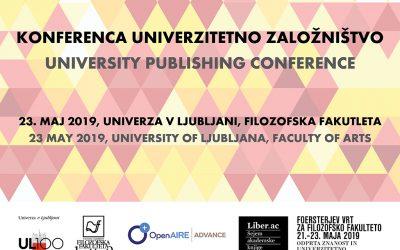Konferenca Univerzitetno založništvo