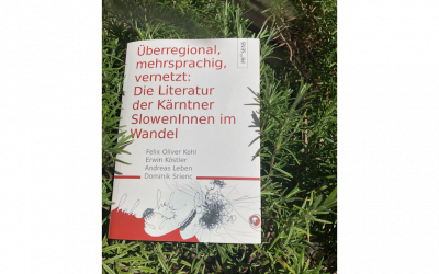 Stopinje čez mejo: literarne stopinje koroških Slovencev